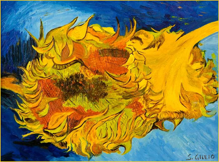 Matrimonio Girasoli Van Gogh : Girasoli recisi painting my way